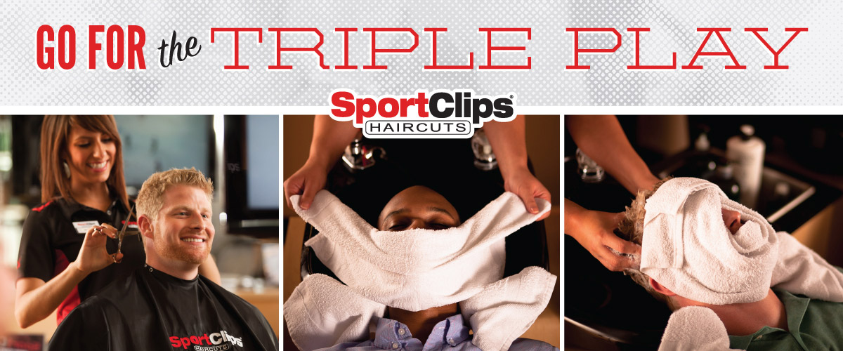 The Sport Clips Haircuts of Marietta Triple Play
